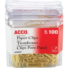 Gold Tone  Clips